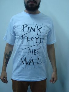 Camiseta Pink Floyd - The Wall Branca