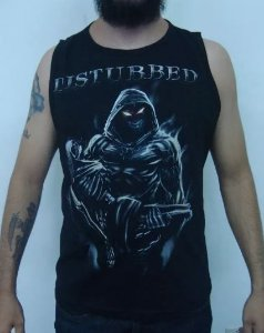 Camiseta Regata - Disturbed