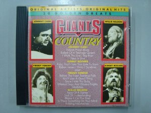 CD Giants of Country - Johnny Cash, Kenny Rogers e outros