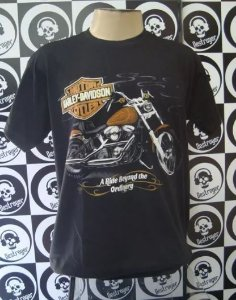 Camiseta Harley Davidson - A Ride Beyond the Ordinary