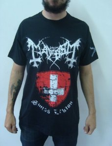 Camiseta Mayhem - Swiss Legion