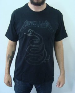 Camiseta Metallica - Black Album