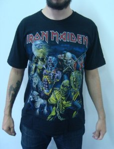 Camiseta Iron Maiden - Best of the Beast