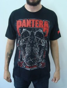 Camiseta Pantera - 101 Proof - Pure metal