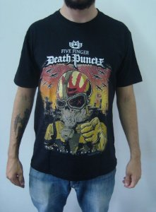Camiseta Five Finger Death Punch - War is the Answer