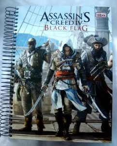 Caderno Escolar - Assassins Creed