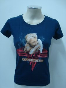 Baby look feminina - Van Halen