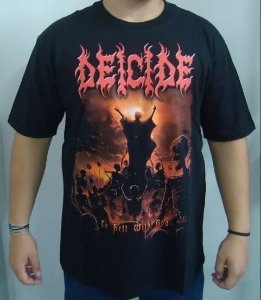 Camiseta Deicide - To Hell with God