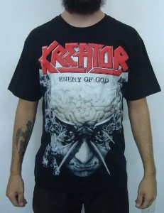 Camiseta Kreator - Enemy of God