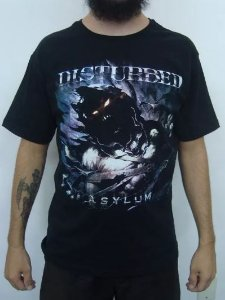 Camiseta Disturbed - Asylum