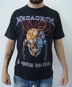 Camiseta Megadeth - the System has failed