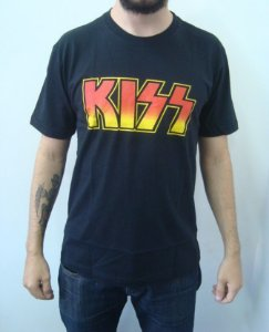 Camiseta Kiss - Básica
