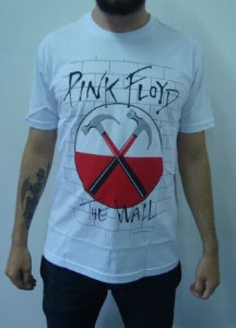 Camiseta Pink Floyd - The Wall - Martelos