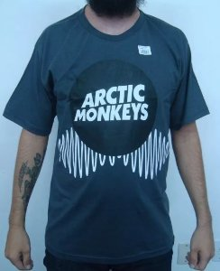 Camiseta Arctic Monkeys - Cinza