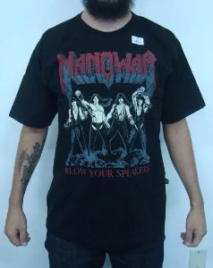 Camiseta Manowar - Blow your speakers