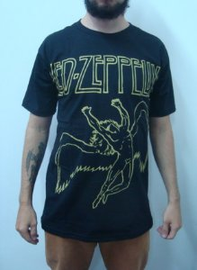 Camiseta Led Zeppelin - Ícaro