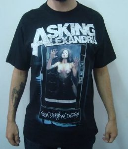 Camiseta Asking Alexandria - From death to Destiny