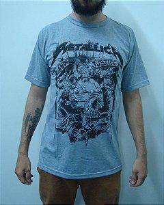 Camiseta Metallica - And Justice for All - Caveira