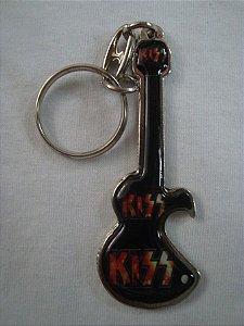 Chaveiro Abridor de Garrafa - Kiss