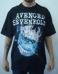 Camiseta Avenged Sevenfold - Nightmare Skull