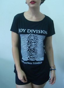 Baby look feminina - Joy Division - Unknow Pleasures