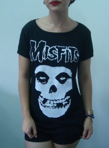 Baby look feminina - The Misfits