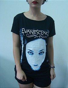Baby look feminina - Evanescence - Fallen