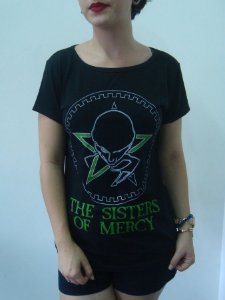 Baby look feminina - The Sisters of Mercy