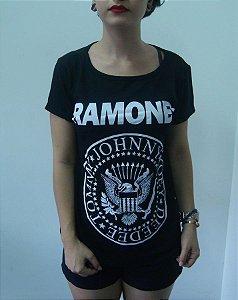 Baby look feminina - Ramones