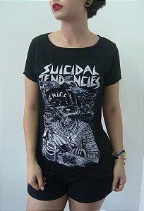 Baby look feminina - Suicidal Tendencies