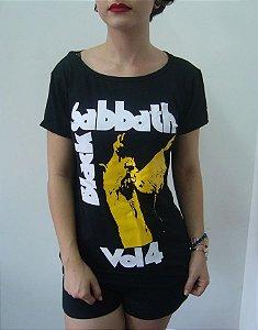 Baby look feminina - Black Sabbath - Vol. 4