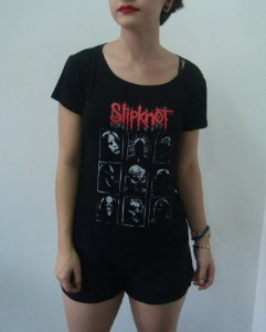 Baby look feminina - Slipknot