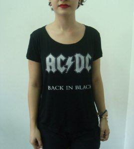Baby look - AC DC - Back in Black