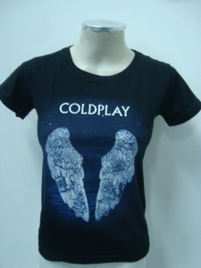 Baby look feminina Coldplay - Ghost Stories