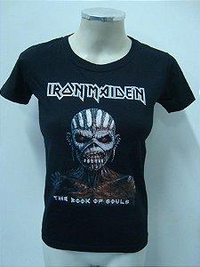 Baby look feminina - Iron Maiden - The Book of souls