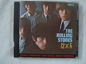 CD The Rolling Stones - 12x5 - importado
