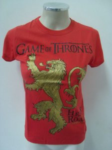 Baby look Game of Thrones - Lannisters - Hear me Roar