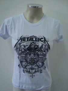 Baby look Metallica - Death Magnetic Skull