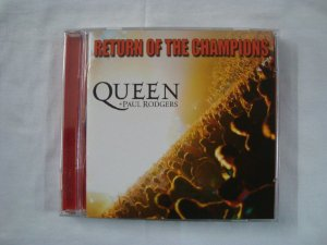 CD Queen - Return of the Champions + Paul Rodgers