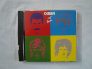CD Queen - Hot Space