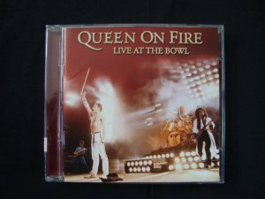CD Queen - Queen on Fire - Live at the Bowl - duplo