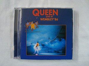 CD Queen - Live at Wembley 86 - duplo