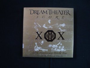 CD Dream Theater - Score - triplo - 20th Anniversary