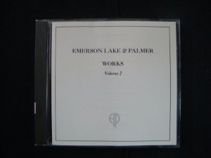 CD Emerson, Lake and Palmer - Works - Volume 2 - ELP importado