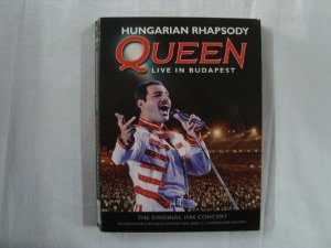 DVD Queen - Hungarian Rhapsody - Live in Budapest - triplo