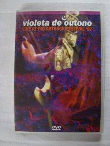 DVD Violeta de Outono - Live at the Artrock festival 1997