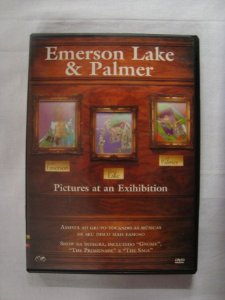 DVD Emerson Lake and Palmer - Pictures at an Exihibition