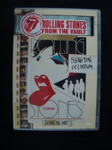 DVD The Rolling Stones - Hampton Coliseum Live 1981