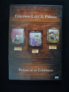 DVD Emerson Lake and Palmer - Pictures at an Exhibition
