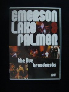 DVD Emerson Lake and Palmer - The Live Broadcasts